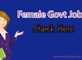 Female Govt Jobs