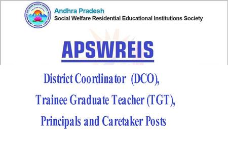 APSWREIS Recruitment