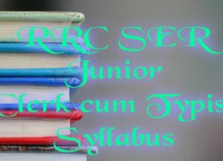ser junior clerk cum typist syllabus