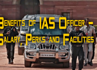 Benefits Of IAS Officer