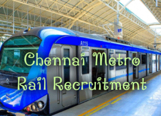 Chennai Metro Rail Recruitment