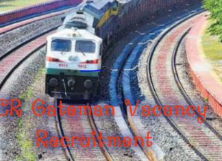ECR Gateman Vacancy Recruitment