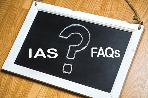 FAQs on IAS