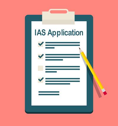 IAS Exam Application