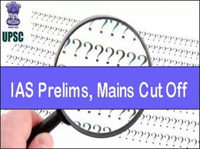 IAS Exam Cut Off