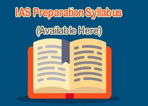 IAS Preparation Syllabus