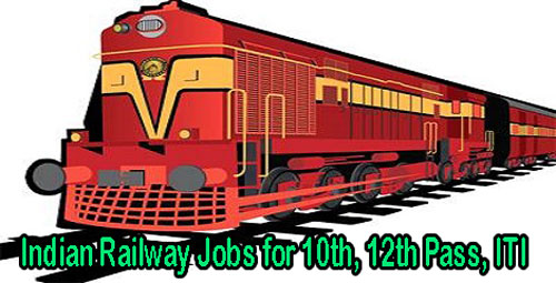 Indian Railway Jobs for 10th 12th Pass ITI
