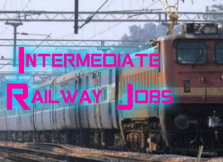Intermediate Railway Jobs