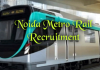 Noida Metro Rail Recruitment
