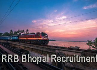 RRB Bhopal Recruitment