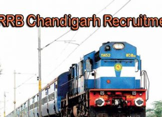 RRB Chandigarh Recruitment