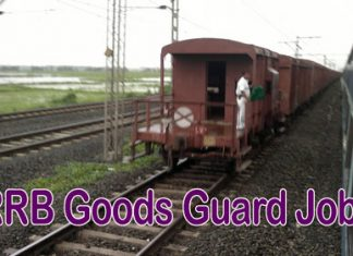RRB Goods Guard Jobs