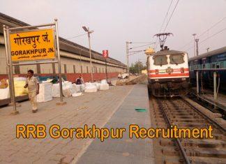 RRB Gorakhpur Recruitment