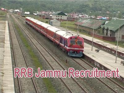 RRB Jammu Recruitment