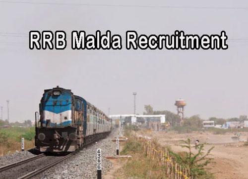 RRB Malda Recruitment