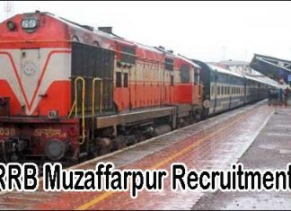 RRB Muzaffarpur Recruitment