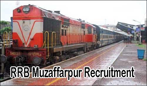 RRB Muzaffarpur Recruitment