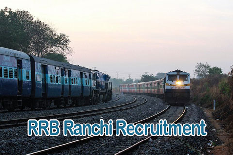RRB Ranchi Recruitment