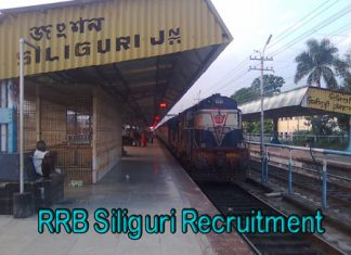 RRB Siliguri Recruitment