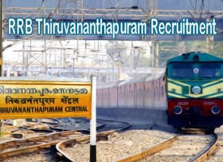 RRB Thiruvananthapuram Recruitment