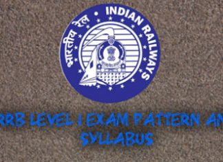 RRB Level1 Exam Pattern And Syllabus