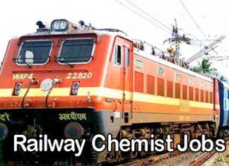 Railway Chemist Jobs