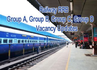 Railway Group A B C D Notifications