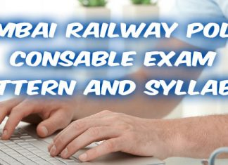 mumbai railway police constable exam pattern
