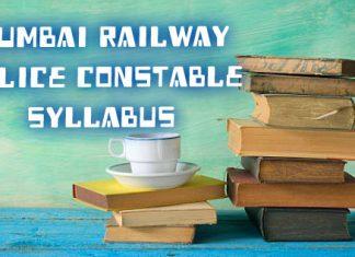 mumbai railway police constable syallabus
