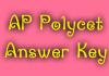 AP Polycet Answer Key