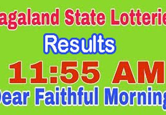 DEAR FAITHFUL MORNING RESULT
