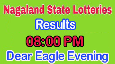01-05-2019   Dear Eagle Today Result 8:00 PM   Nagaland State