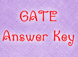 GATE Answer Key