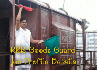 Goods Guard Job Profile