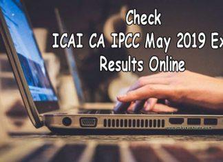 ICAI CA IPCC Results