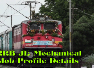 JE Mechanical Job Profile