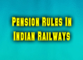Pension Rules In Indian Railways