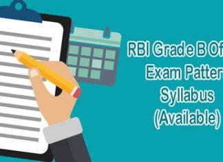 RBI Grade B Officer Exam Pattern