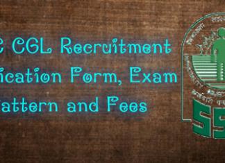 SSC CGL Recruitment