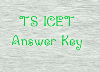 TS ICET Answer Key