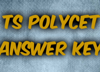 TS Polycet Answer Key