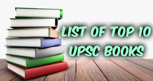 Top 10 UPSC Books