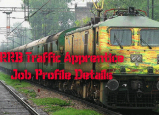 Traffic Apprentice Job Profile