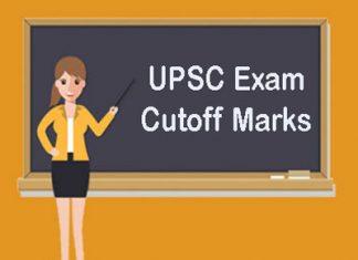 UPSC Exam Cutoff Marks