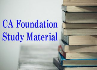 CA Foundation Study Material