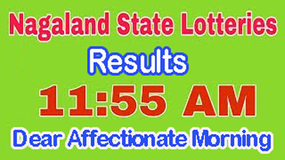 05 May Nagaland Dear Affectionate Lottery Result 05 05 2019 Today
