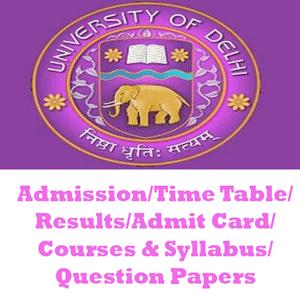 Delhi University LLM | LLB Question Papers – Download DU LLB