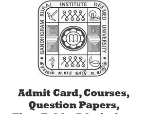 GRIInstituteQuestionPapers
