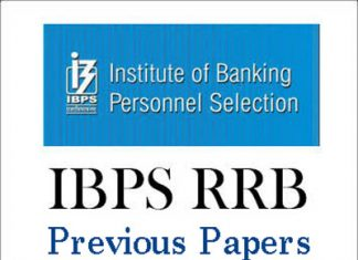 IBPS RRB Scale 1 Previous Papers