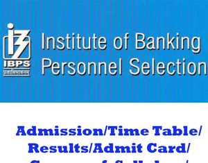IBPS PO Question Papers